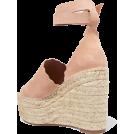 JecaKNS Sandali -  CHLOÉ espadrille wedge sandals