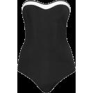 lence59 Kupaći kostimi -  CLASSIQUE PLEATED BANDEAU ONE PIECE