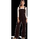 Carhartt Grembiule -  Carhartt Women's Sandstone Bib Pant Dark Brown