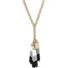 pwhiteaurora Necklaces -  Cascading Beaded Tassel Necklace