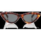 sandra  Sunglasses -  Celine brown cat eye sunglasses