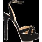 Aurora  Sandals -  Charlotte Olympia Black Sandals