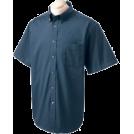 Chestnut Hill T-shirts -  Chestnut Hill 32 Singles Sort Sleeve Twill Shirt. CH505 Navy
