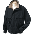 Chestnut Hill Jacket - coats -  Chestnut Hill CH850 Lodge Microfiber Jacket Black/Surplus