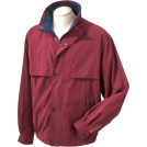 Chestnut Hill Jacket - coats -  Chestnut Hill CH850 Lodge Microfiber Jacket Merlot/New Navy