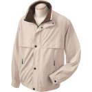 Chestnut Hill Jacket - coats -  Chestnut Hill CH850 Lodge Microfiber Jacket Stone/Espresso