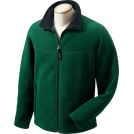 Chestnut Hill Long sleeves t-shirts -  Chestnut Hill Men's Polartec Full Zip Fleece Jacket. CH950 darkest green/black