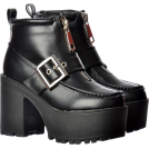 shallowpoools Boots -  Chunky Buckle Platform Boots