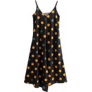 FECLOTHING Dresses -  Color polka-dot dress