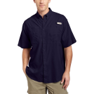 Columbia Shirts -  Columbia Men's Tamiami II Short Sleeve Shirt Eclipse BlueSize: