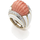 lence59 Rings -  Coral Ring
