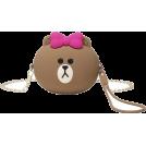 FECLOTHING Messenger bags -  Cute Girl Brown Bear Shoulder Messenger