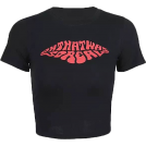FECLOTHING T-shirts -  Cute Red Letter T-shirt