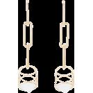 Evelin  Earrings -  DANNIJO Vito drop down cube earrings