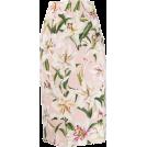 beautifulplace Skirts -  DOLCE & GABBANA floral midi skirt