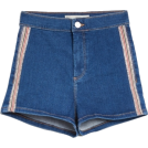 Ajsa  Shorts -  Diamante Side Striped Joni Shorts