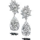 REBECCA REBECCADAVISBLOGGER Earrings -  DiamondFlowerEarring