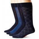 Dockers Altro -  Dockers Men's 4 Pack Herringbone Dress Socks