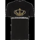 carola-corana T-shirts -  Dolce & Gabbana Crown Print T Shirt