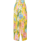 glamoura Capri & Cropped -  Dolce & Gabbana Floral-Print Poplin Wide