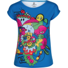 PINaR ERIS T-shirts -  Doodle Art Print Slim Fit T-shirt