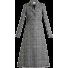 HalfMoonRun Jacket - coats -  ERDEM embellished checked coat