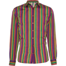 spabrah Long sleeves shirts -  ETRO Stripe Dress Shirt