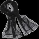 Echo Scarf -  Echo Evening Wrap w/ Sequins Black