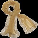 Echo Scarf -  Echo Evening Wrap w/ Sequins Gold