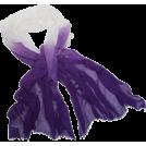 Echo Scarf -  Echo Ombre Boarder Wrap Grape