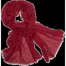 Echo Scarf -  Echo Polka Dot Wrap Laquer Red