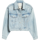 beautifulplace Jacket - coats -  Embellished Denim Jacket LA VIE REBECCA