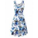 webmaster(s) @trendMe Dresses -  FENSACE Women's Sleeveless Flare Floral