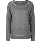 Full Tilt Long sleeves t-shirts -  FULL TILT Essential Cut Seam Womens Sweatshirt Charcoal