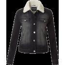 Bev Martin Jakne i kaputi -  Fitted Black Denim Jacket