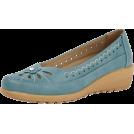 whisper Flats -  Flexisole Slip-on Flower Detail Shoes