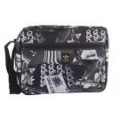adidas Accessories -  Folder man ADIDAS bag messenger black with shoulder strap VF223
