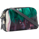 Foley + Corinna Bag -  Foley + Corinna Banker 8606542B Cross Body Aubergine Tie Dye