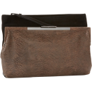 Foley + Corinna Clutch bags -  Foley + Corinna Double Venti 8605642 Clutch Black/Brown