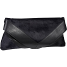 Foley + Corinna Clutch bags -  Foley + Corinna Georgina Portfolio Clutch Midnight Pony/Black