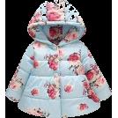 HalfMoonRun Jaquetas e casacos -  GEETOBBY hooded girl coat
