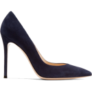 Evelin  Classic shoes & Pumps -  GIANVITO ROSSI 105 suede pumps