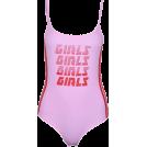 FECLOTHING Grembiule -  GIRLS GIRLS Slim Printed Onesies