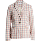 beautifulplace Suits -  Gingham Check Blazer ENGLISH FACTORY