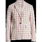 beautifulplace Suits -  Gingham Check Blazer ENGLISH FACTORY
