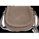 Aurora  Hand bag -  Grey Saddle Bag