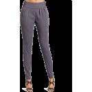 Halston Heritage Hlače - dolge -  HALSTON HERITAGE Women's Slim Pant Steel