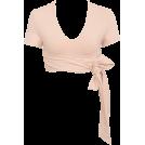 HalfMoonRun Cardigan -  HOUSE OF CB tie wraped ballet top