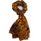 MaiKun Sciarpe -  Halloween Gothic Skull Scarf Soft Long Cotton Scarf 4 Colors