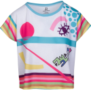 asia12 Majice - kratke -  Hand Drawn Playful Print Relax Fit Tee
